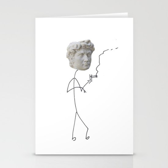 Moody David Stationery Card