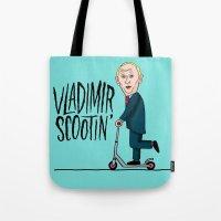 Vlad Scootin Tote Bag