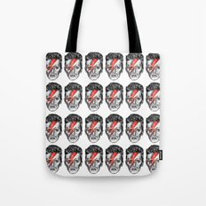 Bowie Head Pattern Tote Bag