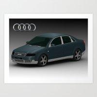 Audi Art Print