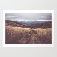 Bieszczady Mountains Art Print