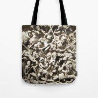 Roman Battle Tote Bag