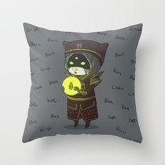 Moon Whisperer Throw Pillow