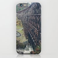 iPhone & iPod Case featuring Largest Trestle in the Commonwealth by Melanie McKay