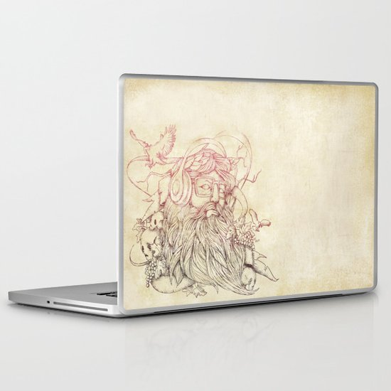 Listen to your soul Laptop & iPad Skin