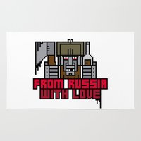 From Russia With Love Rug