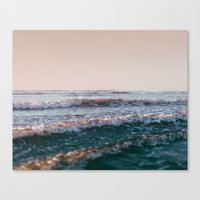 Pacific Lullaby Canvas Print