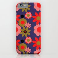 Groovy baby floral iPhone 6 Slim Case
