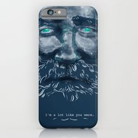 iPhone & iPod Case featuring Old Man by Mexican Zebra