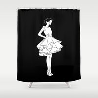 Cybèle Shower Curtain