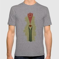 Lord Of The Rings Minima… Mens Fitted Tee Athletic Grey SMALL