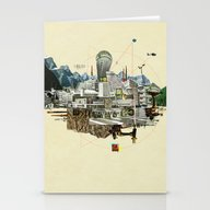 Collage City Mix 7 Stationery Cards
