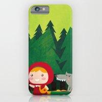 iPhone & iPod Case featuring Little Red Riding Hood by parisian samurai studio