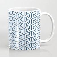 bishamon in monaco blue Mug