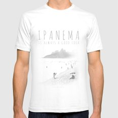 Ipanema Mens Fitted Tee White SMALL