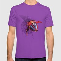 Cybernoid Mens Fitted Tee Ultraviolet SMALL