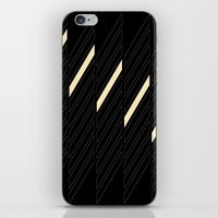 Black Graphic iPhone & iPod Skin
