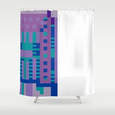 tcanvasmosh18x2a Shower Curtain