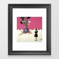 Hello Ruby Framed Art Print