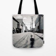 Alley shadows Tote Bag