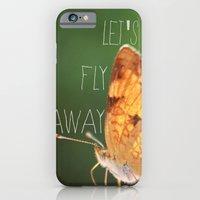 iPhone & iPod Case featuring fly away by just_cortni