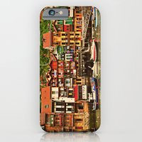 iPhone & iPod Case featuring Little Fishing Village by Melanie Ann