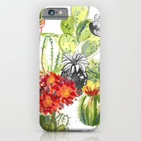 iPhone & iPod Case featuring C is for Cacti by Julia Lavigne