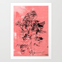 LOWER 4 Art Print