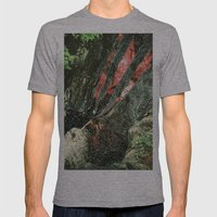waterfall Mens Fitted Tee Athletic Grey SMALL