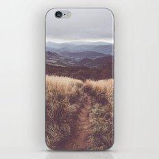 Bieszczady Mountains iPhone & iPod Skin