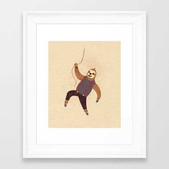 Hey You Guys! Framed Art Print