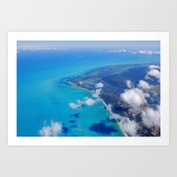 Coast of Mexico Art Print