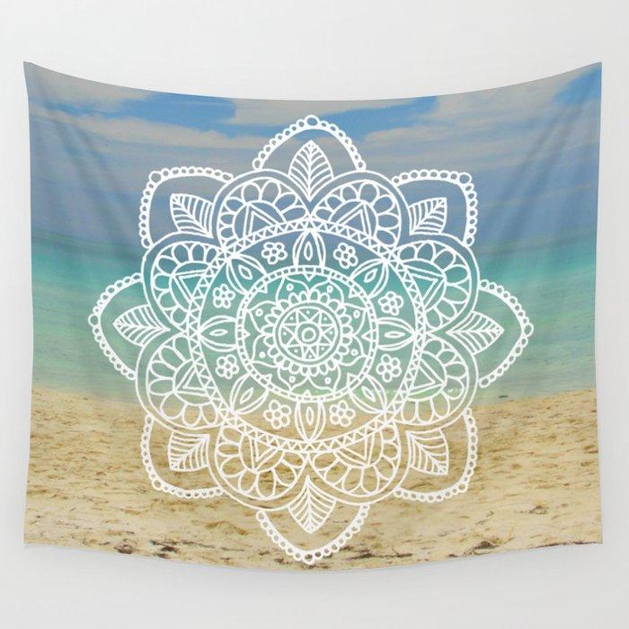 beach cuba mandala wall tapestry blanket boho wanderlust
