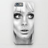 iPhone & iPod Case featuring + BAMBI EYES + by Sandra Jawad