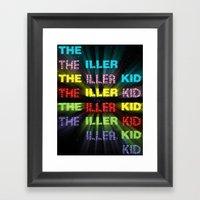 The Iller Kid Framed Art Print