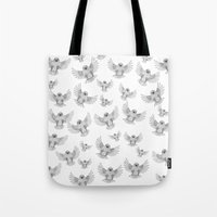 Chicks of prey (belligerant and unconquered) Tote Bag