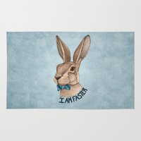 Mr Hare Is Faster Rug