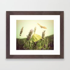 Butterfly Dream Framed Art Print