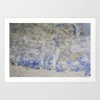 Peeling Wall Art Print