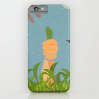iPhone & iPod Case featuring Green Thumb by Josh Franke