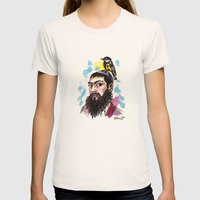 Matisyahu Womens Fitted Tee Natural SMALL
