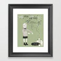 Every Little Thing She D… Framed Art Print