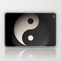Yin Yang Symbol In Leath… Laptop & iPad Skin