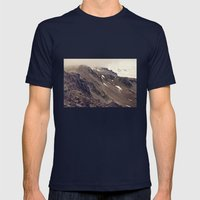 Rocky Mountain Hike Mens Fitted Tee Navy SMALL