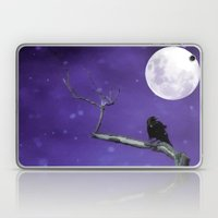 Moonlit Winter Sky Laptop & iPad Skin