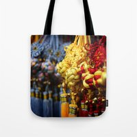 Asian Tassles Tote Bag