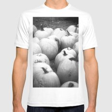 Pumpkin Patch Mens Fitted Tee White SMALL