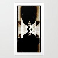 S-aint Decay Art Print
