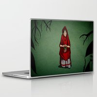 Laptop & iPad Skin featuring Lost in the Fog by Lee Grace Illustration