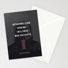 KYLO'S PROMISE Stationery Cards